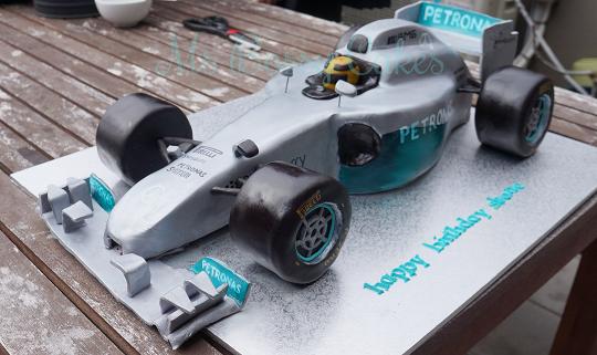 F1 Mercedes Car
